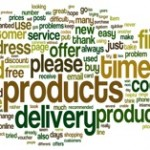 Picture of Voice of customer survey word cloud
