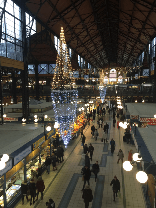 Picture of Budapest Central Market